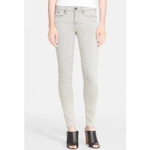 VINCE Gray 'Riley' Skinny Jeans Robertson Fit